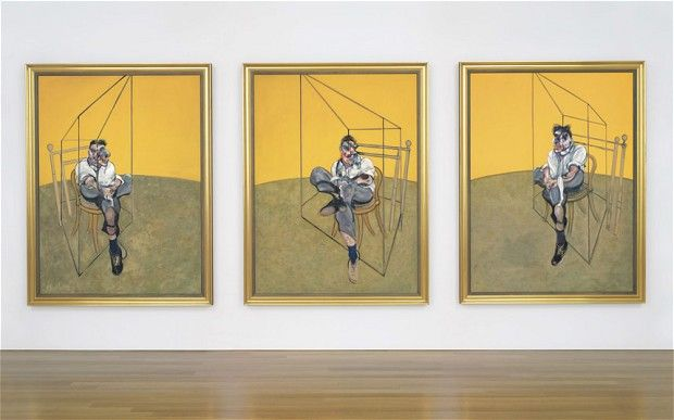 Francis Bacon triptych smashes art auction record - Telegraph