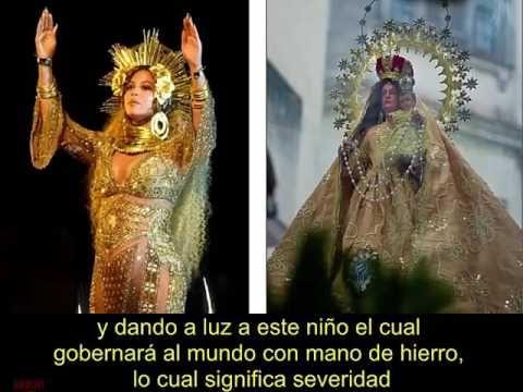 Beyonce Illuminati. El Falso Cristo Presentado al Mundo