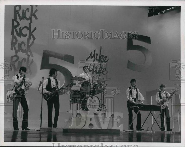 "1967 Press Photo The Dave Clark Five on ""The Ed Sullivan Show"" on CBS."