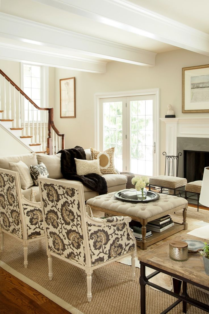 Classic Living Room Decor: 90 Best Images About Beige, Black & White Design On