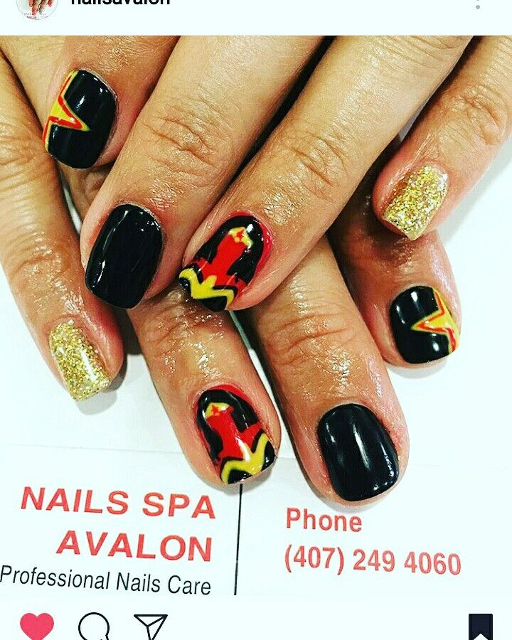 Best 25+ Wonder Woman Nails Ideas On Pinterest