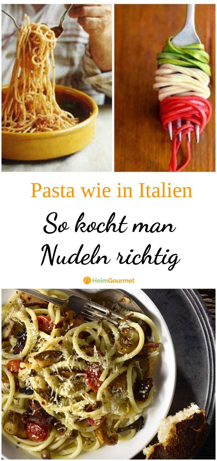 Wie Kocht Man Nudeln