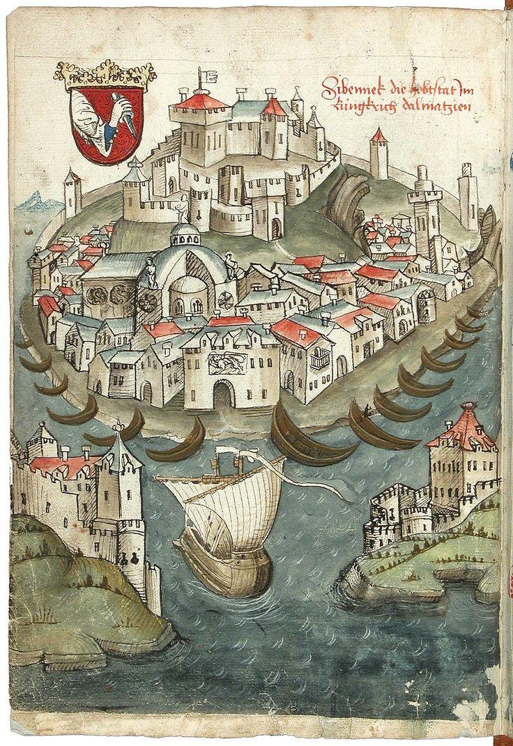 Carnet de voyage de Constance à Jérusalem, Konrad von Grünenberg, 1486