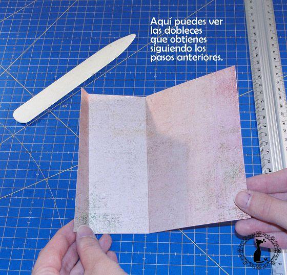 Carpeta con separadores - Tutorial paso a paso Cinderella 7