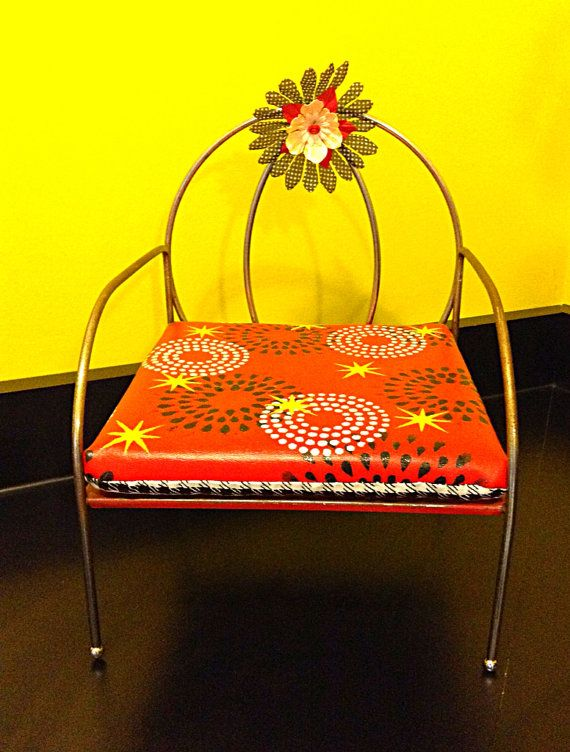 Refurbished 1950's Child's Booster Seat by HUEisit on Etsy