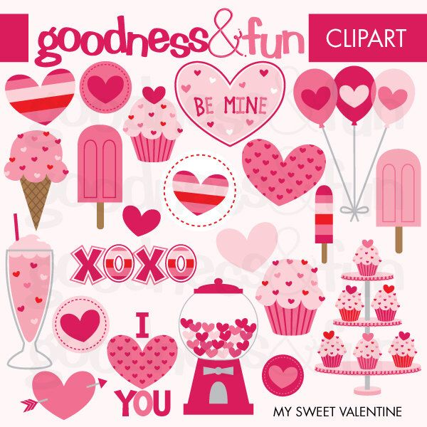 17 best ideas about Valentines Day Clipart on Pinterest | Cartoon ...