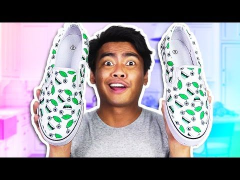 DIY GUAVA JUICE SHOES! - YouTube