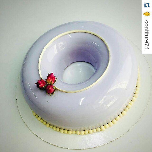 #Repost @confiture74 with @repostapp ・・・ Торт Вишневый йогурт - очень нежный и снаружи и внутри