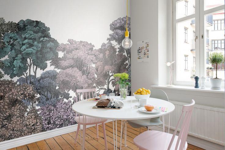 Hey,+look+at+this+wallpaper+from+Rebel+Walls,+Bellewood,+Rainbow!+#rebelwalls+#wallpaper+#wallmurals