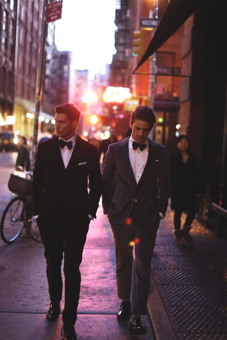 Well dressed in a tux