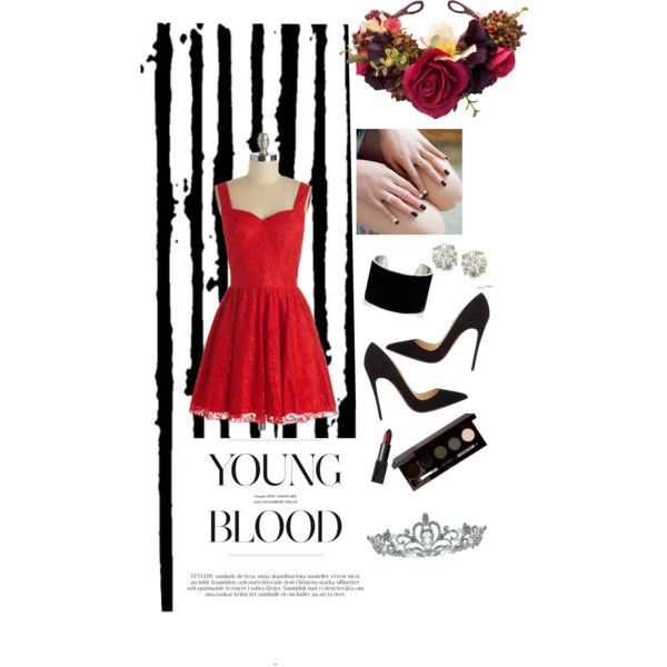 A fashion look from November 2014 featuring Chi Chi dresses, Christian Louboutin pumps and IaM by Ileana Makri bracelets. Browse and shop related looks.