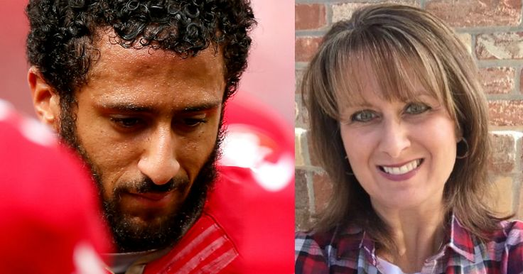 Colin Kaepernick, a football player for the San Francisco 49ers, recently divided the nation after he disrespectfully refused to stand up for the national anthem. Many have given him a piece of their mind. Now, his fed-up mother, who was completely embarrassed by his actions, decided to take a stand of her own, bluntly putting her child in his place.