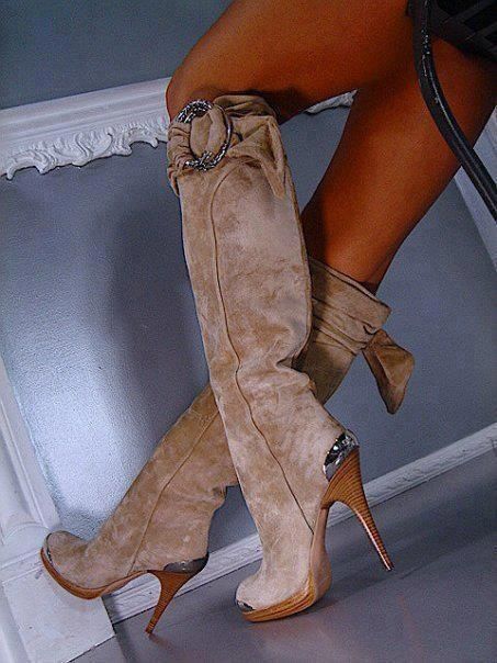 I'm sure I could find something to wear with these!