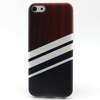 streeppatroon+TPU+materiaal+telefoon+hoesje+voor+iPhone+5c+–+EUR+€+3.32