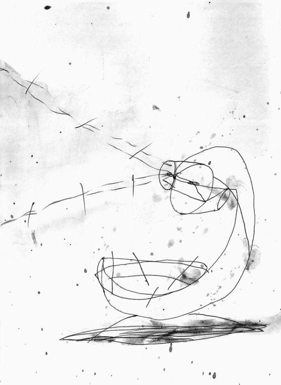 Csaba Pál, drawing 08, A/5