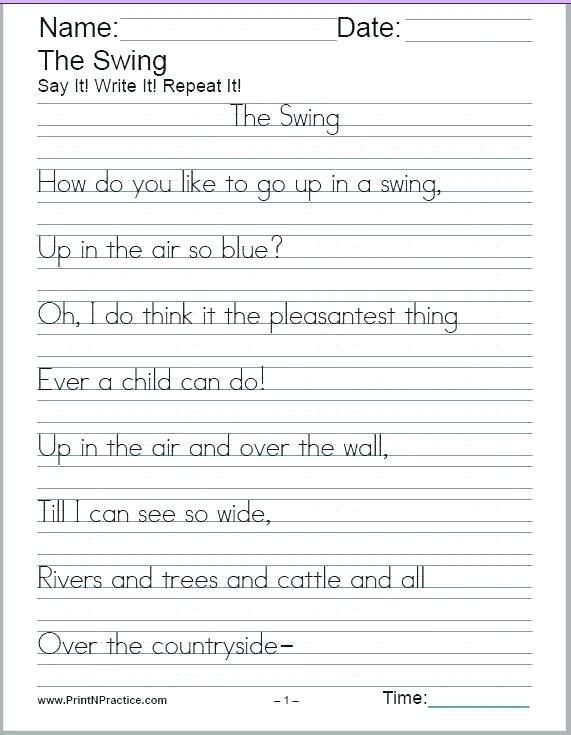 29 Cursive Writing Worksheets For Adults Pdf Accounting