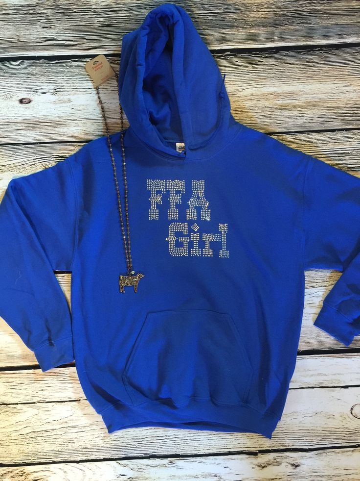 FFA Girl hoodie is super soft & comfy. Perfect for your FFA Sweetheart! Small 4-6 Medium 8-10 Large 12-14 XL 16-18 2X 20-22 3X 22-24