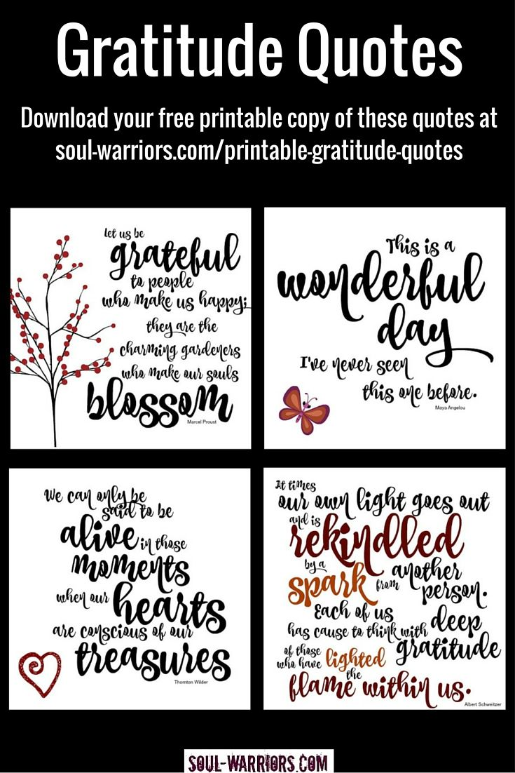 Printable Gratitude Quotes   Click!, Marcel proust and Of