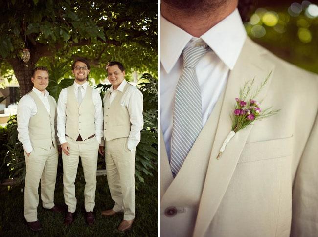 Beige Suits | Wedding ideas | Pinterest