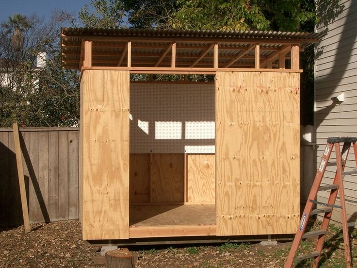 Step 2 Walls Amp Entry Sandy Extended The Plywood