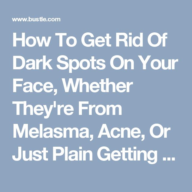 Natural Ways To Get Rid Of Melasma