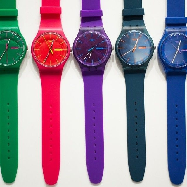 #Swatch: Chao Watches, Часы Swatch, Swatch Отличаются