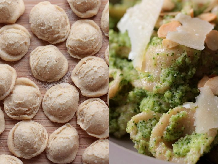 Orecchiette & brokkoli pesto / Orecchiette & broccoli pesto
