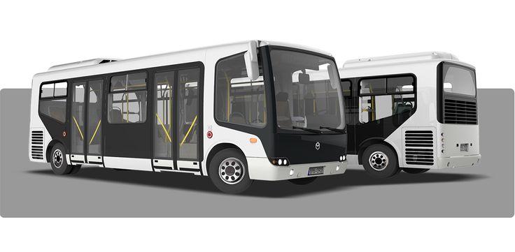 Modulo Bus on Behance3D rendering #design #vehicledesign