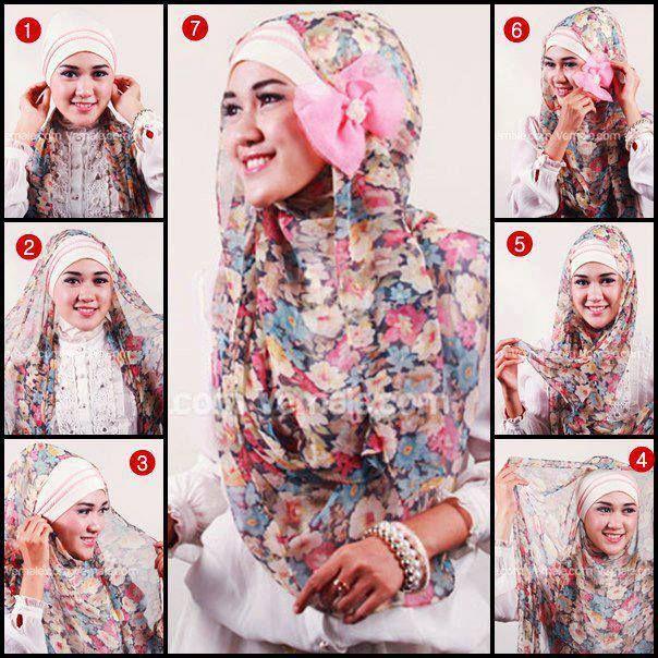 Tutorial Hijab Modern 52