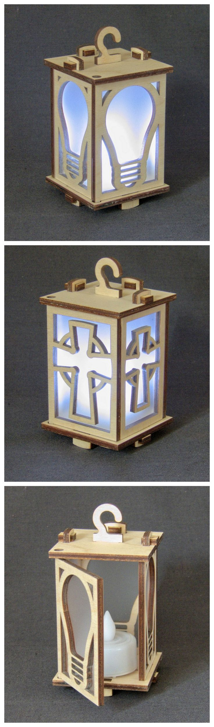 Two new lantern designs, available in a day or two.