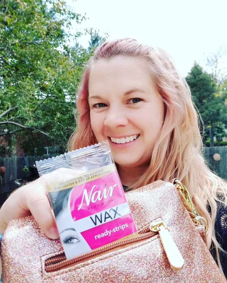 """58 Likes, 1 Comments - @bzzlaurel on Instagram: """"I have been storing my #nair wax ready strips in my purse since it is summer and I never know where…"""""""