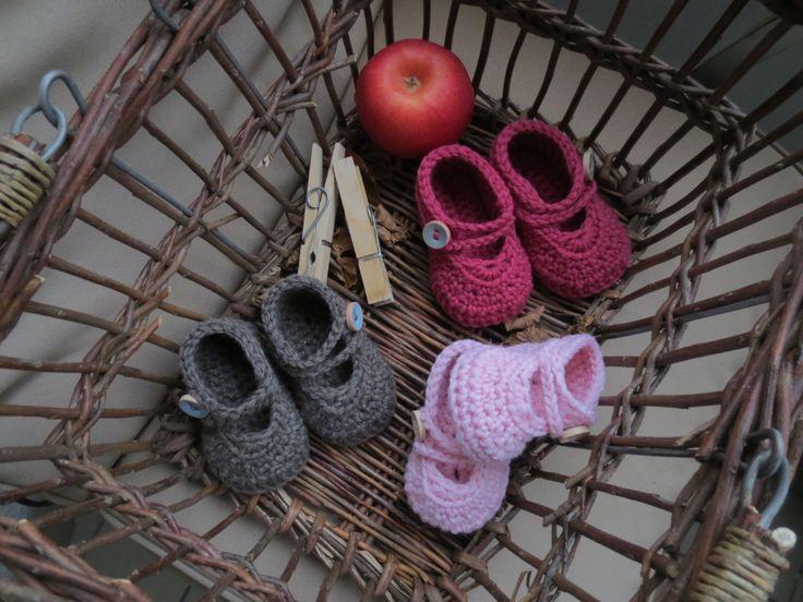 LillePus babysko til nyfødt by HansinaDesign on Etsy