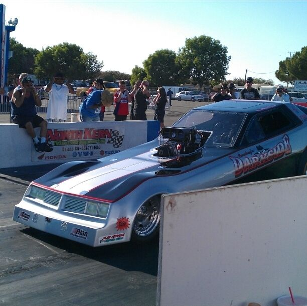 Famosa Raceway, Kern County, California — by Tim Brito.