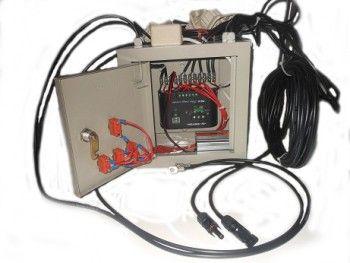 [Paket PLTS Untuk Rumah 300 watt – 500 watt] Paket PLTS Untuk Rumah ini sangat cocok untuk rumah, kebun, pagar, & tempat-tempat yang tidak terjangkau dengan listrik PLN, tidak perlu repot beli bbm, instalasi yang mudah & Lebih Hemat Biaya  Spesifikasi Paket PLTS Untuk Rumah 300 watt – 500 watt :  1. Panel Surya 100 WP ukuran 900mm x 850mm 2. Kabel Power Khusus Panel Surya 18 meter 3. Controller Panel Surya 10A/12volt-24volt Merk Sinyoku 3. Panel box dari plat dengan di co