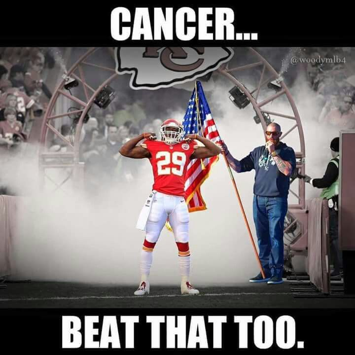 #29 Eric Berry .. Beat Cancer & going to the Pro-Bowl