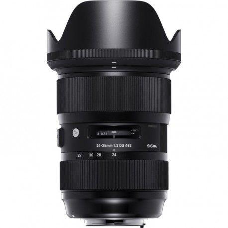 Espectacular y único ,  el objetivo Sigma  24-35mm f2 DG Art, primer zoom angular con una luminosidad constante de f2, y con una calidad brutal, te permite tener cubierto con una sola pieza las tres distancias focales por antonomasia , 24-28 y 35mm