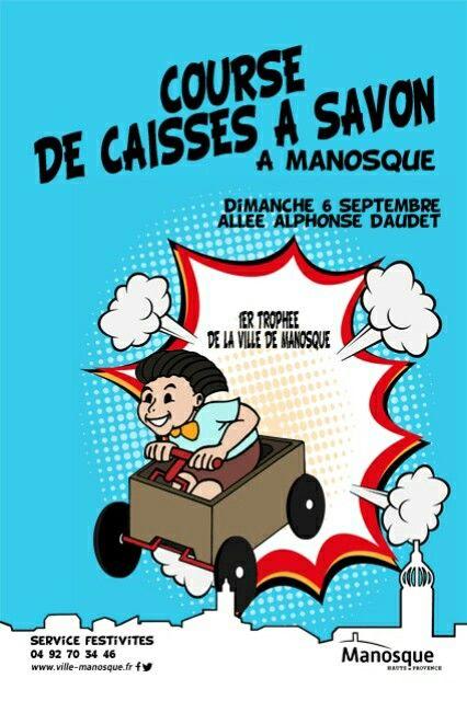 Course de caisses à savon #affiche #course #manosque  #caisse