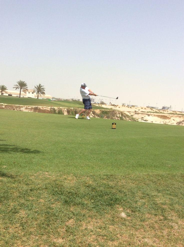 9th tee at Royal Bahrain Golf Club