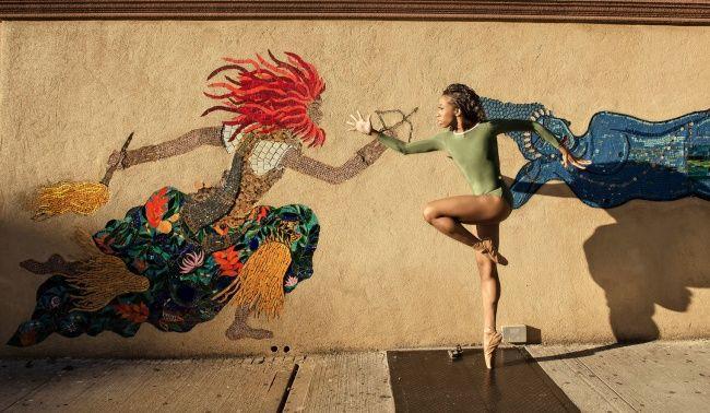 Танцоры балета развлекаются