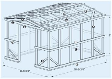 Free chicken coop plans and material list woodworking projects plans do it yourself greenhouse building plans from build a sturdy 839x1039 hobby greenhouse with corrugated polycarbonate wall and roof panels the free solutioingenieria Gallery