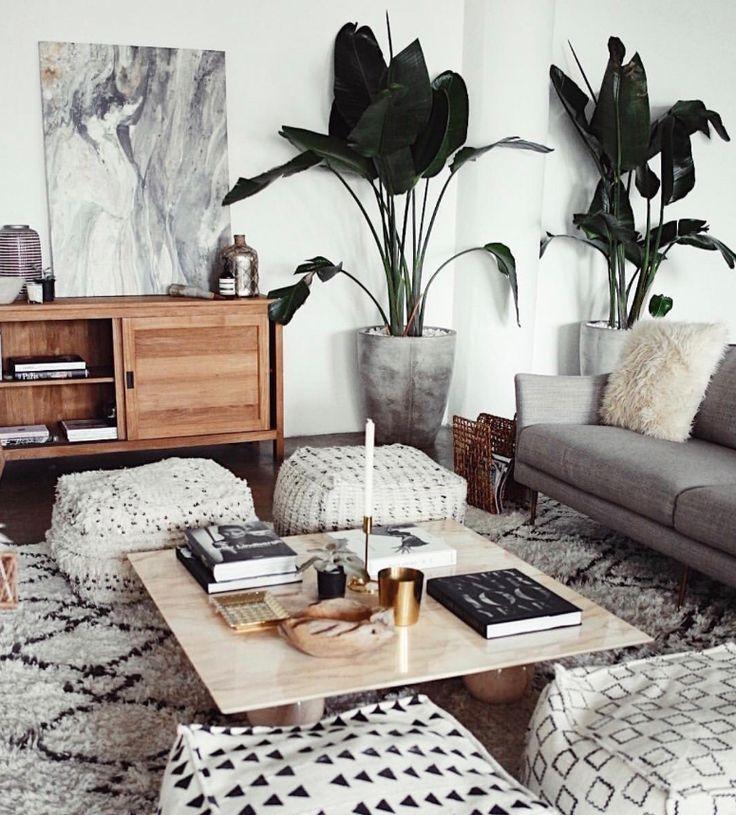 Boho interior | follow @shophesby for more gypset boho modern lifestyle + interior inspiration