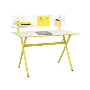 Ally Hutch Desk Yellow Lovely bright colour would look great in my daughter's bedroom without cluttering up the room