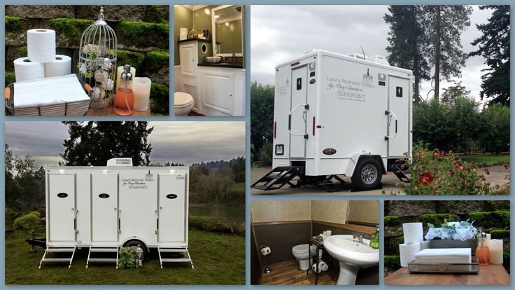 Portland Oregon based outdoor restroom rentals for weddings and big events. FORGET ABOUT THE PORTA POTTY!!! these things are amazing for keeping those rustic, barn, farm weddings fancy.