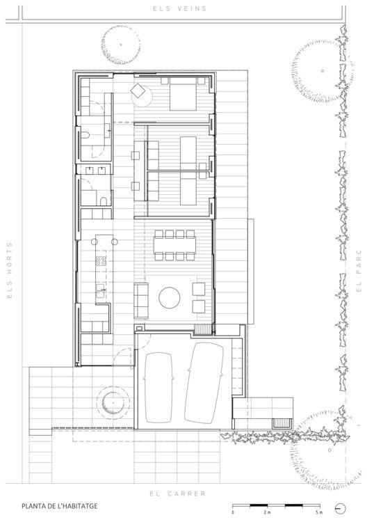 Galeria de casa do parque / Arnau architecture studio – 20   – floorplans and concepts