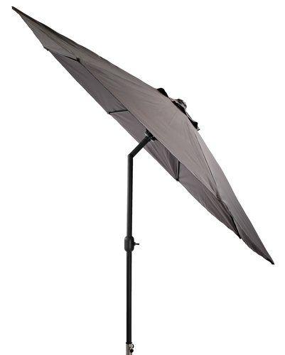Parasol ogrodowy AGGER Ś300cm alu szary | JYSK 150 zł
