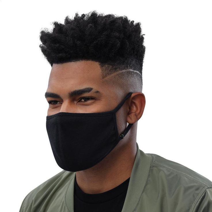 This durable face mask is made from two layers of treated fabric and features elastic ear loops and a center flat seam that ensure a close fit. It's machine-washable and reusable. Sold in packs of Diy Mask, Diy Face Mask, Face Masks, Men Fashion, Street Fashion, Unisex Fashion, Fashion Face, Fashion Online, Fashion Clothes