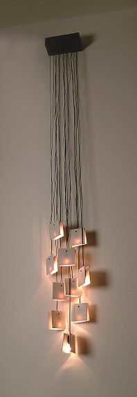 Porcelain Pads Wall Lamp