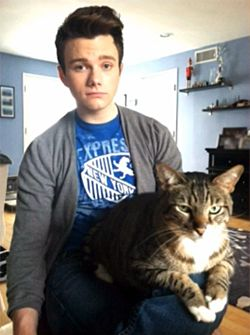 Chris Colfer and Brian Colfer