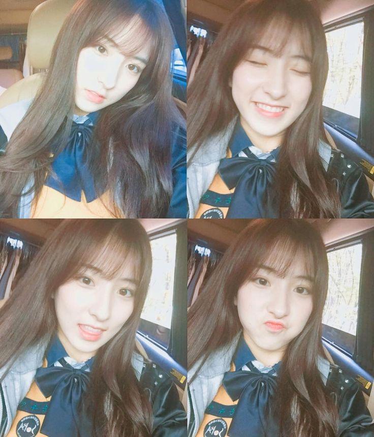 WJSN - Eunseo 은서 (Son Juyeon 손주연) IG selca