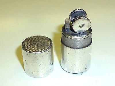 VINTAGE POCKET PETROL LIGHTER 925 STERLING SILVER - FEUERZEUG IN ZYLINDERFORM Sammeln & Seltenes:Tabak, Feuerzeuge & Pfeifen:Feuerzeuge:Alt (vor 1970)